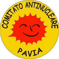 Logo Comitato antinucleare Pavia