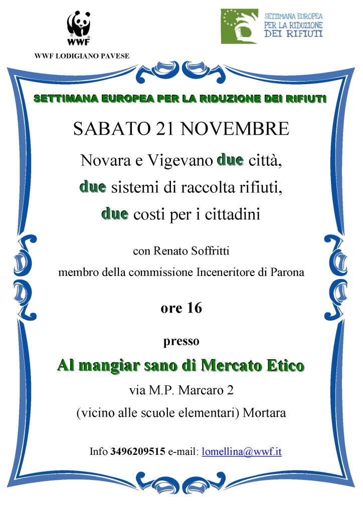 WWF,Lodigiano,Pavese,Soffritti,Renato,Mercato,Etico,Mangiar,Sano,Mortara